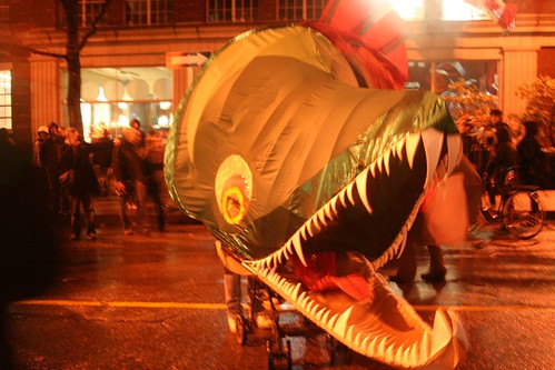 giant protest salmon