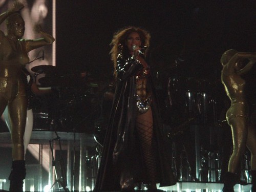 Concierto de Beyonce en el Hipodromo de San Isidro , Buenos Aires