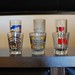 Shot glasses collected on my travels