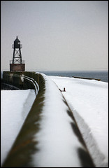 Mole at the Navy Base in Wilhelmshaven (MatMatson) Tags: schnee winter snow ice marine navy northsea mole eis nordsee base wilhelmshaven superaplus aplusphoto marinesttzpunkt platinumheartaward herataward