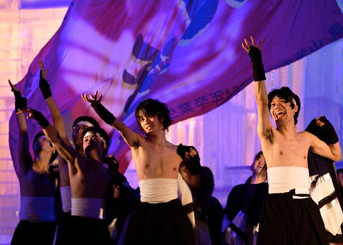Cold Yosakoi Dancing in Sapporo