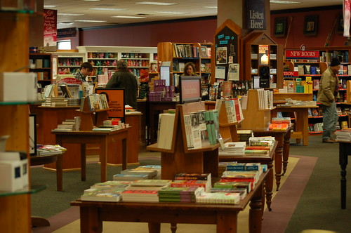 Inside Davis-Kidd Booksellers, Memphis, Tenn.