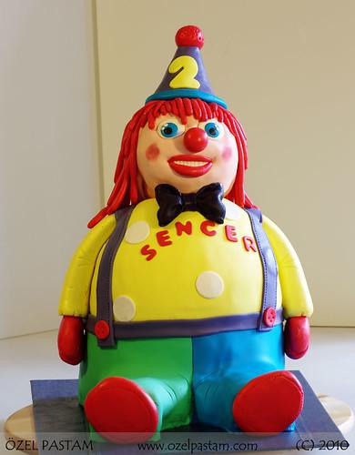 Palyaço Pasta / Clown Cake