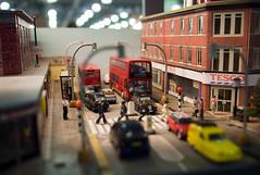 The Beatles, Abbey Road, in miniature (David S Wilson) Tags: railroad england model panasonic abbeyroad railways thebeatles 2010 doncaster olympuspenep1 20mmf17