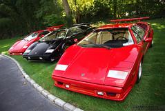 [フリー画像] [自動車] [スポーツカー] [スーパーカー] [ランボルギーニ/Lamborghini] [ランボルギーニ カウンタック] [Lamborghini Countach] [イタリア車] [ロゴ入り]   [フリー素材]