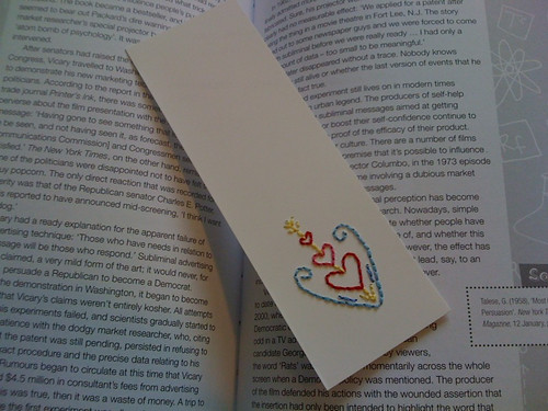 Cupid Bookmark