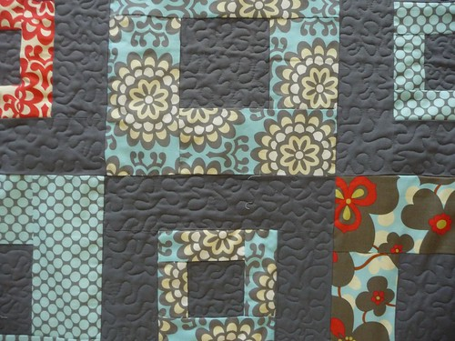 esther's quilt detail