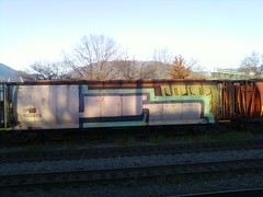 1of3 K6A (Grimey  Trains) Tags: canada k train graffiti freight nwk wholecar fullcar k6a