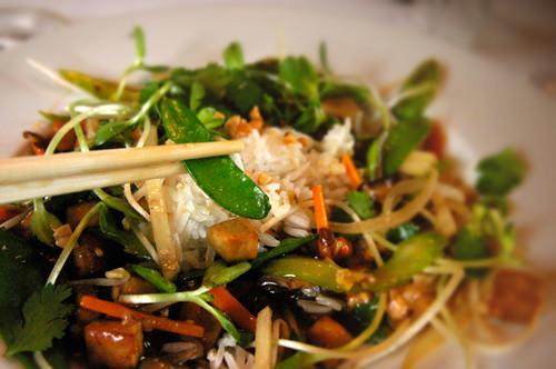 Crispy Tofu Chop Suey à la Zilker
