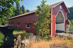 Office Covered Bridge (uGoTours) Tags: bridge oregon roadtrip covered coveredbridges oregoncoveredbridges coveredbridgesinoregon oregonscenicdrive oregonplacesofinterest drivesandroadtrips