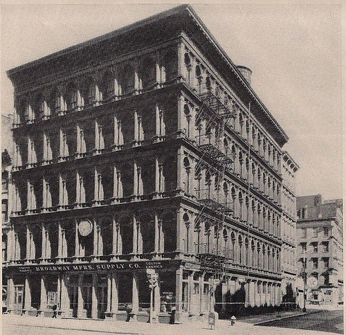 08/14/70 Life Magazine Doomed Palaces of Iron - NYC (Haughwout Building on Lower Broadway)
