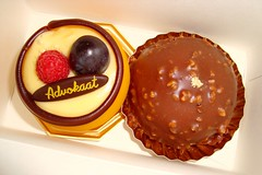 Belgian Pastries (DolceDanielle) Tags: food dessert belgium chocolate hasselt patisserie dome pastry pastries mousse liqueur advokaat cools