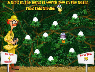 free Watch the Birdie slot bonus game