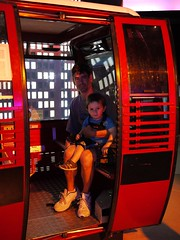 Simon and Sam in the old Sentosa Cable Car (now in the Images of Singapore exhibit) (☼zlady) Tags: simon sam imagesofsingapore