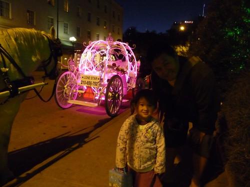 cinderella horse drawn carriage.