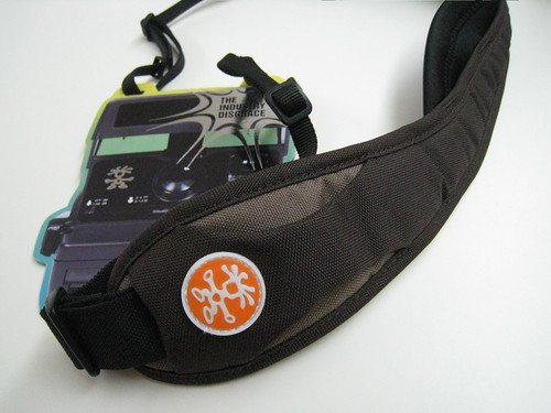 Crumpler Logo At The Front