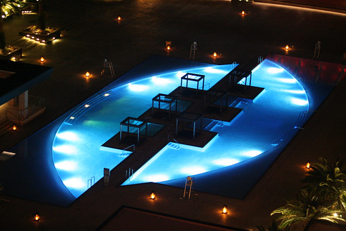 M Resort Room - View, Pool, Night
