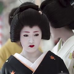 Baika-sai '10 #18 (Onihide) Tags: kyoto maiko geiko teaceremony kitanotenmangu baikasai kamishichiken ichimame 市まめ onihide