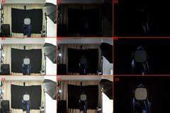 2010 First profile change - Setup (kirk lau) Tags: selfportrait self canon eos chair weekend seagull flash 120film setup kirk 2010 nothingtodo cto setupshot strobist 3lights