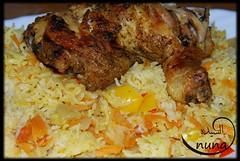 nuna الرز مع الدجاج المشوي لــ (sanabesCooking) Tags: