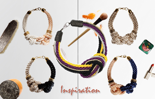 Rope Necklace DIY Inspiration