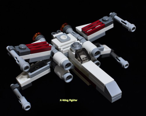 Star Wars Lego 30051 X-Wing Fighter [mini] - a photo on Flickriver