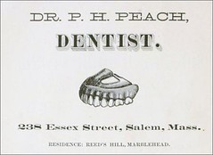 Dr. P.H. Peach, Dentist