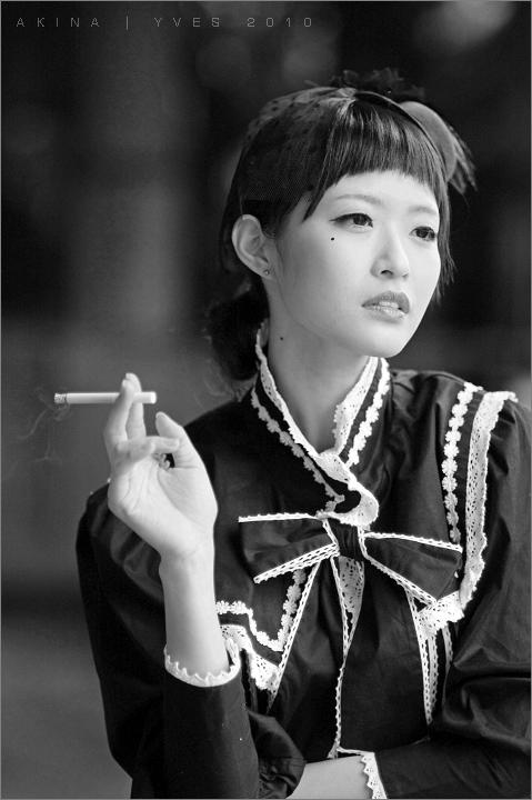 Akina小貓。白&黑