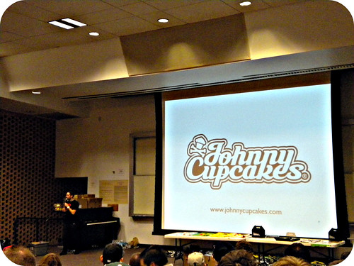 Johnny Cupcakes at ASU