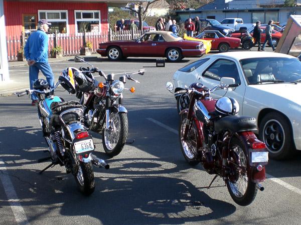 BSAs, Norton, Porsche, Jaguar