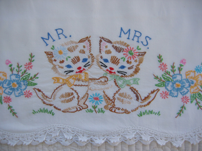 mr. + mrs. cat