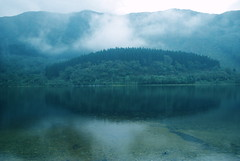 514 0908 (ebabe50) Tags: blue trees mist reflection green art nature water beautiful rain landscape scotland flora nikon scenery loch clearwater waterscape forna lubnaig scotland0908faves