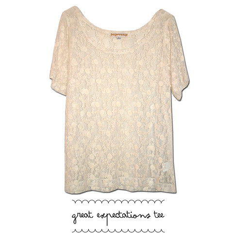great expectations tee