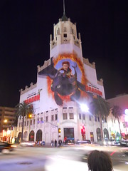 iconic building in an ugly sweater (Benjamin Page) Tags: life california city people urban sculpture food usa signs hot art history strange modern buildings design living losangeles insane theater humanity metro random eating culture boring odd hollywood pasadena oddity interiordesign sights exciting sites weired benjaminpage