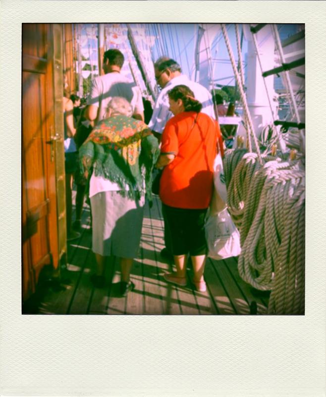 a bordo da Sagres