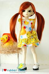 I  rubber duck by Cupcake003 (ipumuqSweet Ribbon) Tags: dress bubble etsy yosd minifee dollndoll ipumuq pumuqsshop