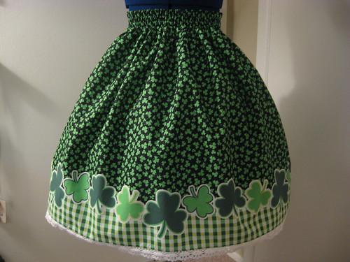 St Patricks Day Skirt 005
