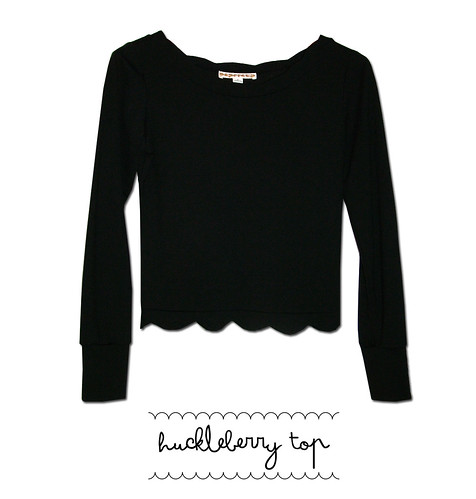 huckleberry top black