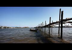 (fuadabd) Tags: sky beach port landscape boat village kampung kelantan nelayan tokbali