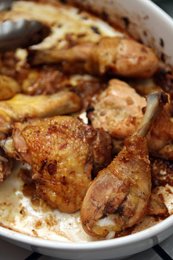 Roast Chicken with Caramelized Shallots - David Lebovitz