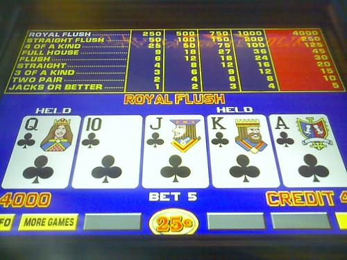 Flickriver Random Photos From Royal Flush Video Poker Style Pool
