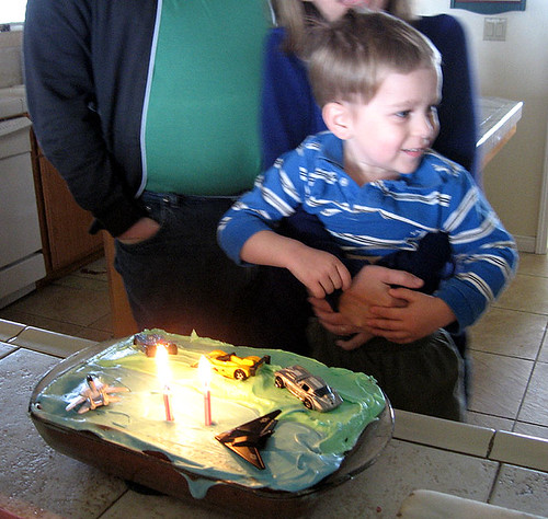 Blowing out candles 1