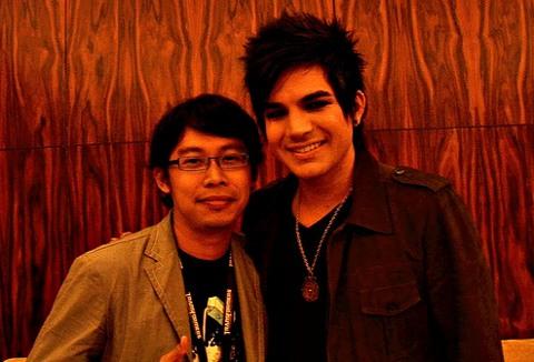 Me and Adam Lambert