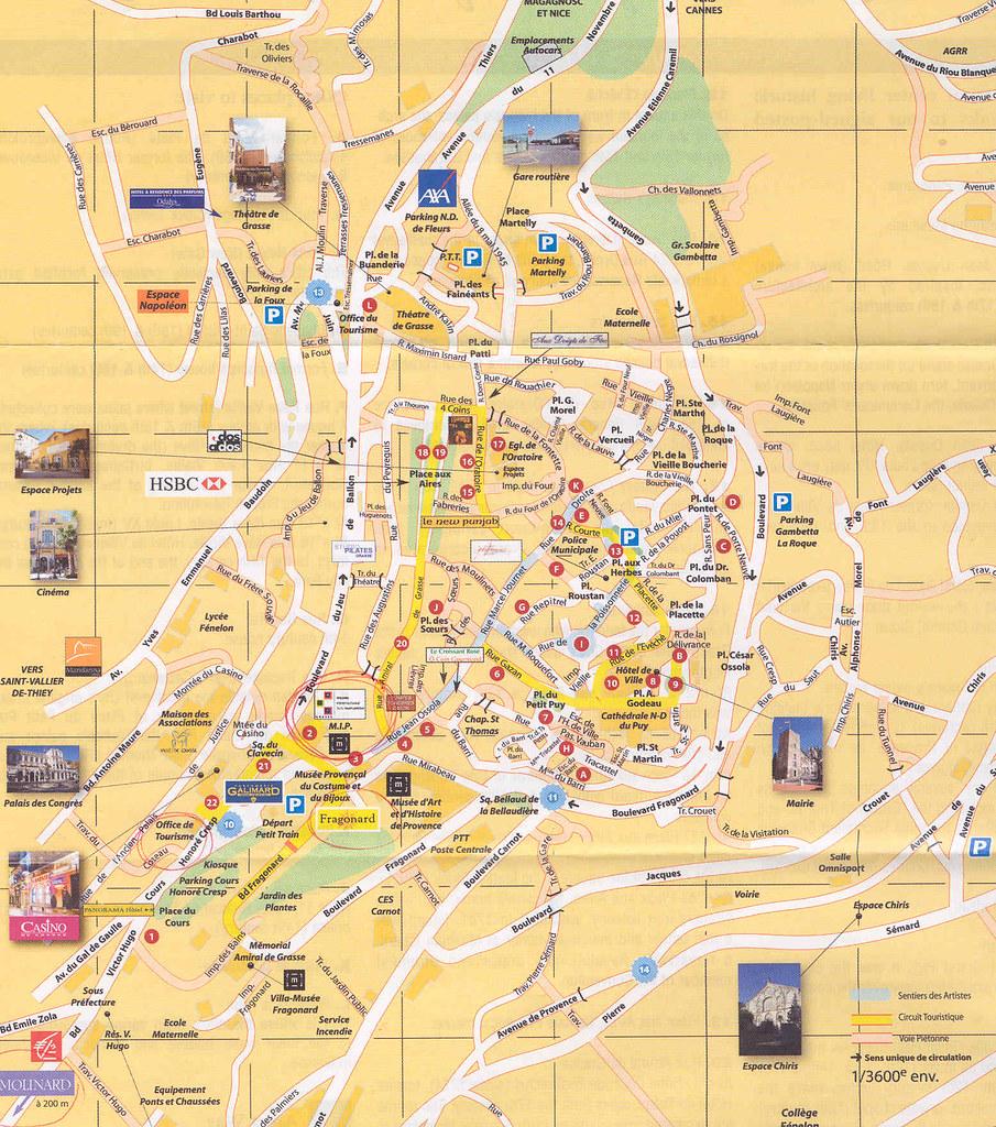 mapa grasse