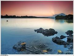 Indahnya alam, seindah tutur kata bersulam ucap santun bahasa jiwa bangsa (sam4605) Tags: sunrise river landscape ed scenery olympus e1 sunray kinabalu sungai pemandangan zd mengkabong 1260mm sungaimengkabong
