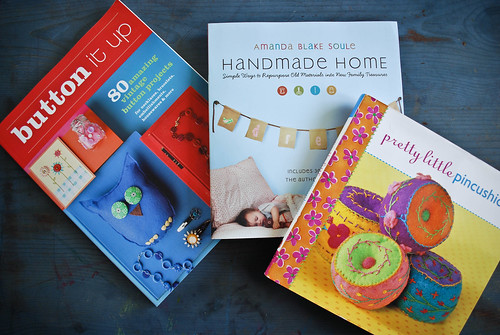 march :: library books and other good stuff {creative book exchange!}