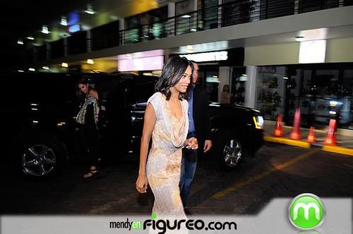 Zoe Saldaña en Republica Dominicana'7