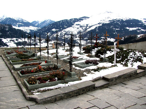Cementery in the mountains
