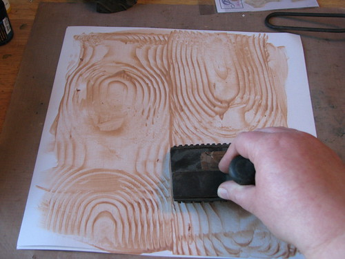 faux wood grain 002