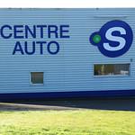 Enseingne Centre auto, Saint-Martin des Champs